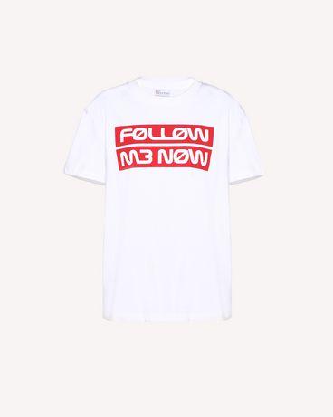 REDValentino RR3MG00AEKN 001 T-Shirt Woman a