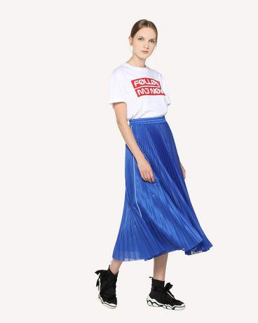 REDValentino RR3MG00AEKN 001 T-Shirt Woman d