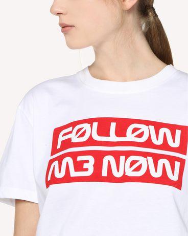 REDValentino RR3MG00AEKN 001 T-Shirt Woman e