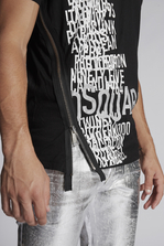 DSQUARED2 Dsquared2 Zipped T-Shirt Short sleeve t-shirt Man