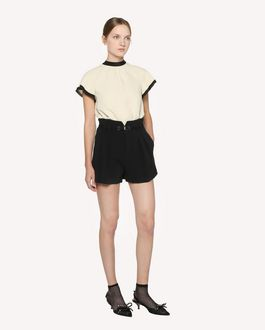 REDValentino Crepe Envers Satin top