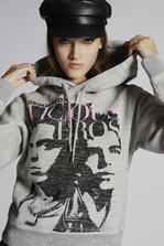 DSQUARED2 Vicious Hooded Sweatshirt Sweatshirt Woman