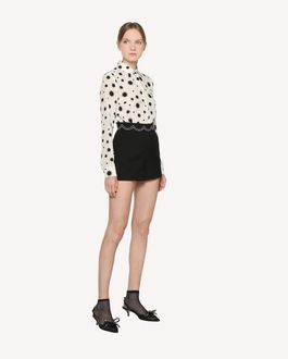 REDValentino Stars and Shadows printed Silk shirt