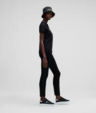 KARL LAGERFELD K/Ikonik Rhinestone T-Shirt 9_f