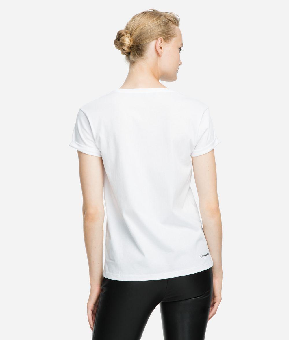 KARL LAGERFELD K/Ikonik Pocket T-Shirt T-shirt Woman d