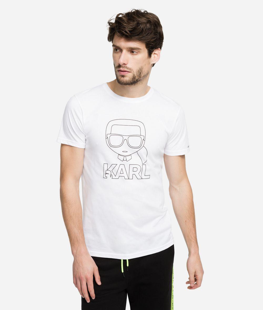 KARL LAGERFELD K/Ikonik Outline T-Shirt T-shirt Man f