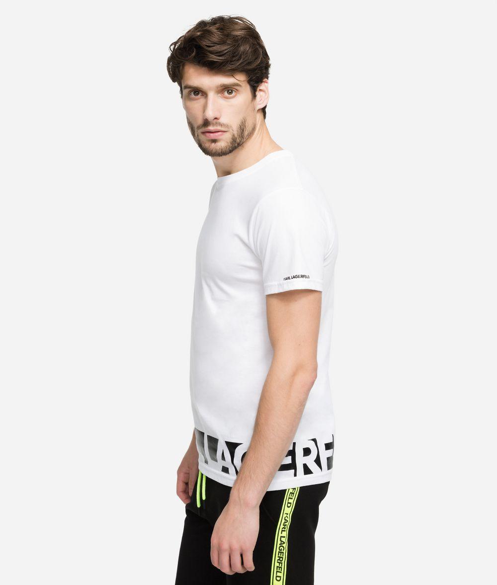 KARL LAGERFELD Printed Logo T-Shirt T-shirt Man d