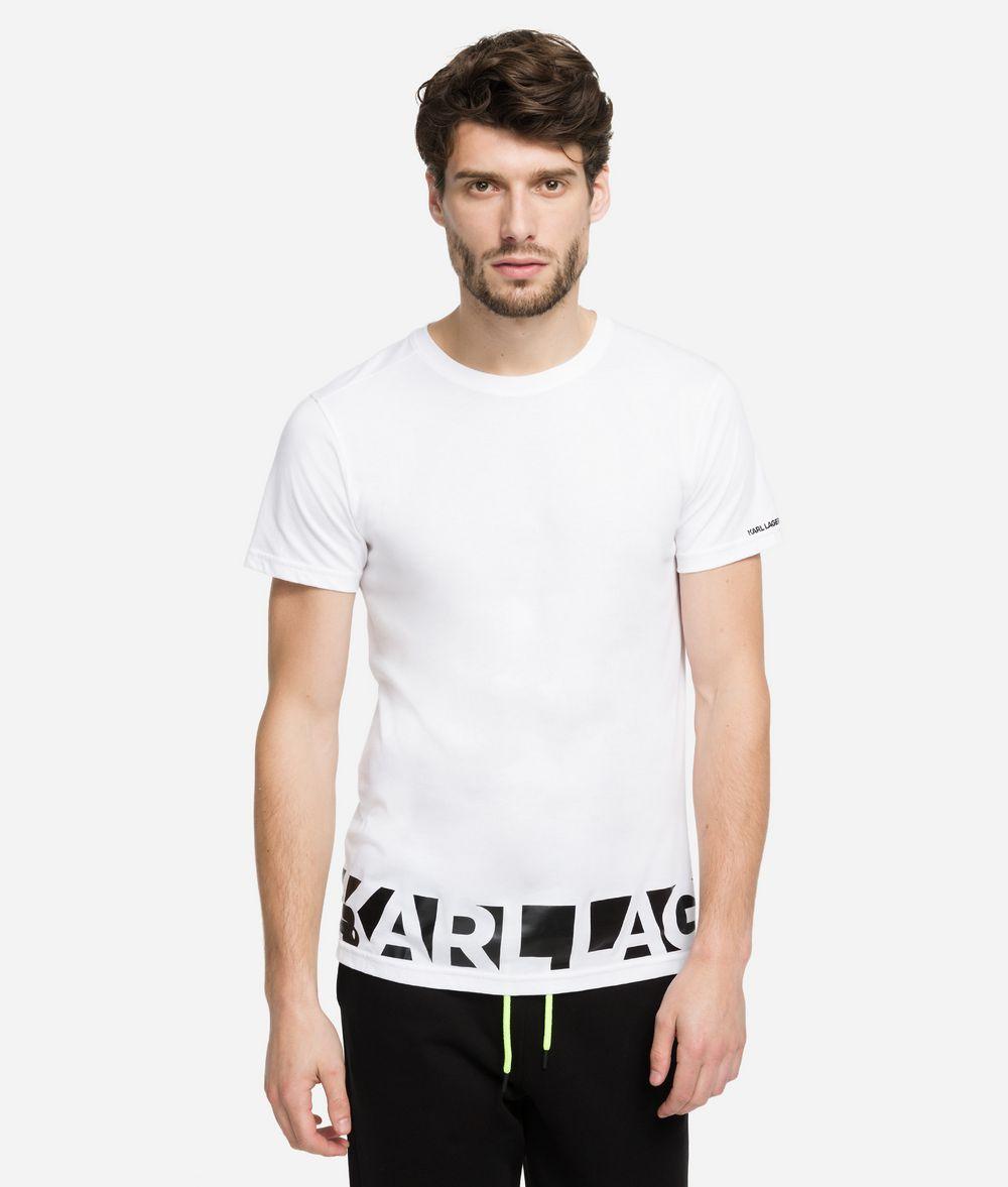 KARL LAGERFELD Printed Logo T-Shirt T-shirt Man f