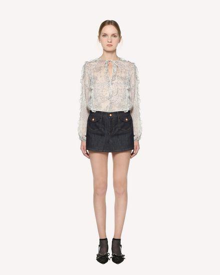 REDValentino Shirt Woman RR3ABA05LNM GZ7 f