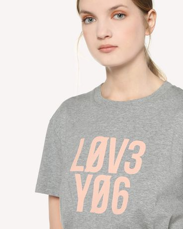 REDValentino RR3MG10EMGV 080 T-Shirt Woman e