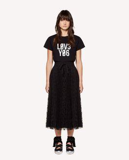 REDValentino Camiseta con estampado «Love You»