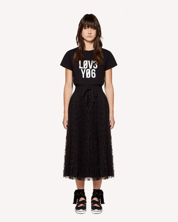 """REDValentino Tシャツ """"Love You""""プリント"""