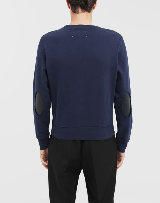 MAISON MARGIELA Décortiqué elbow patch sweatshirt Sweatshirt [*** pickupInStoreShippingNotGuaranteed_info ***] e