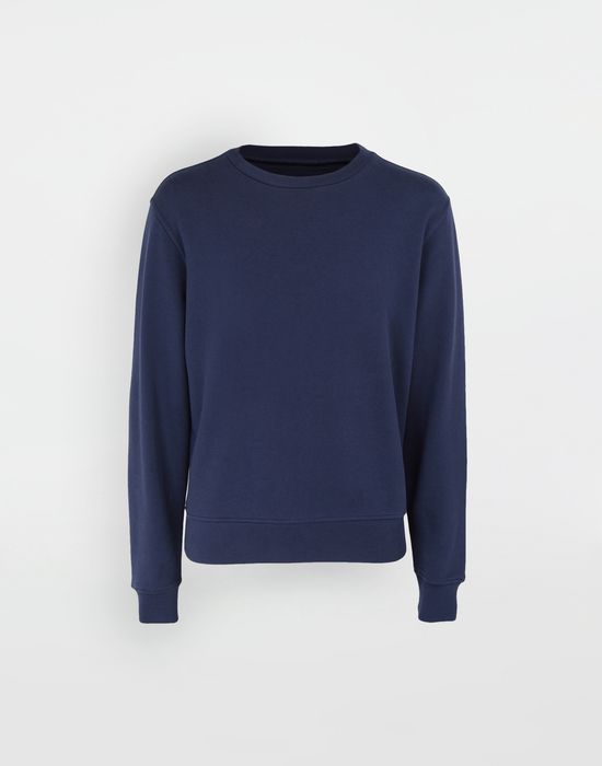 MAISON MARGIELA Décortiqué elbow patch sweatshirt Sweatshirt [*** pickupInStoreShippingNotGuaranteed_info ***] f