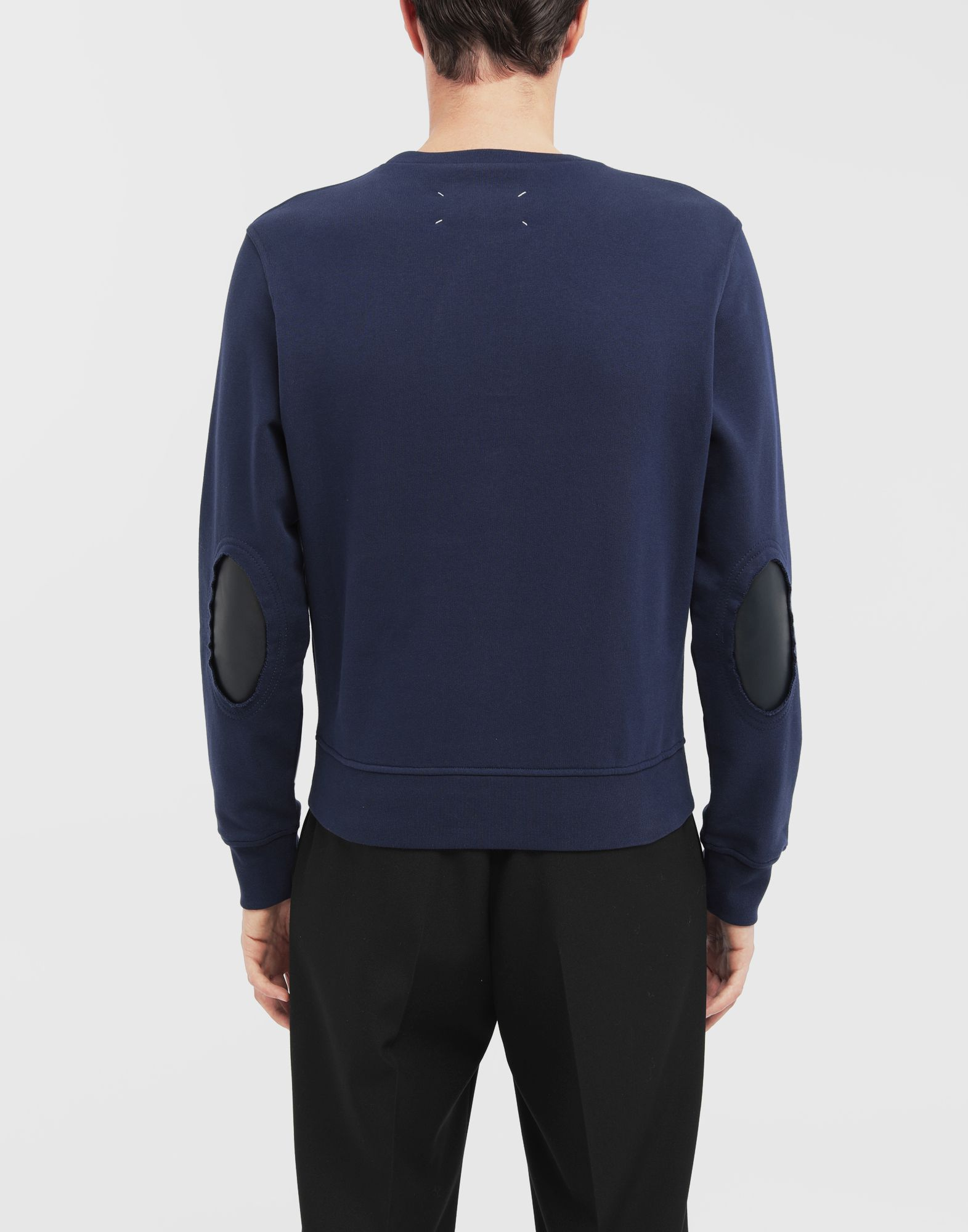 MAISON MARGIELA Décortiqué elbow patch sweatshirt Sweatshirt Man e