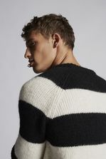 DSQUARED2 Striped Alpaca Pullover Pullover Man