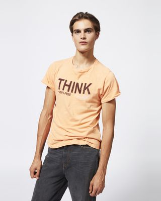 ISABEL MARANT T-SHIRT Man ZAFFERH T-shirt r