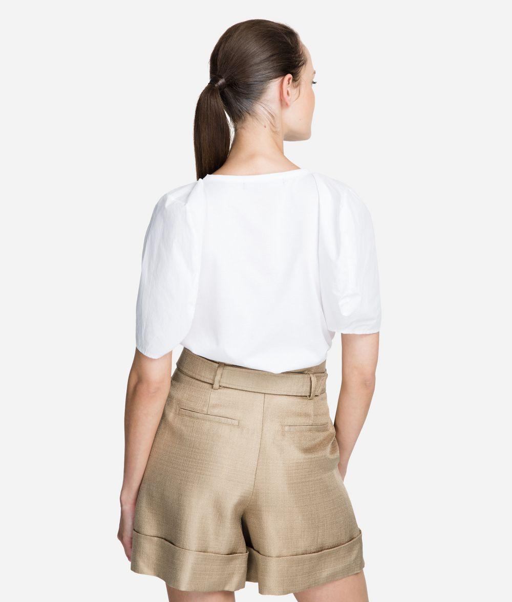 KARL LAGERFELD Volume-Sleeve Top T-shirt Woman d