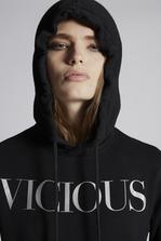 DSQUARED2 Vicious Hooded Sweatshirt Sweatshirt Woman
