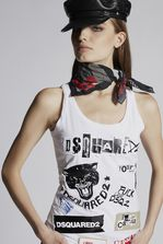 DSQUARED2 Punk Tank Top Top Woman
