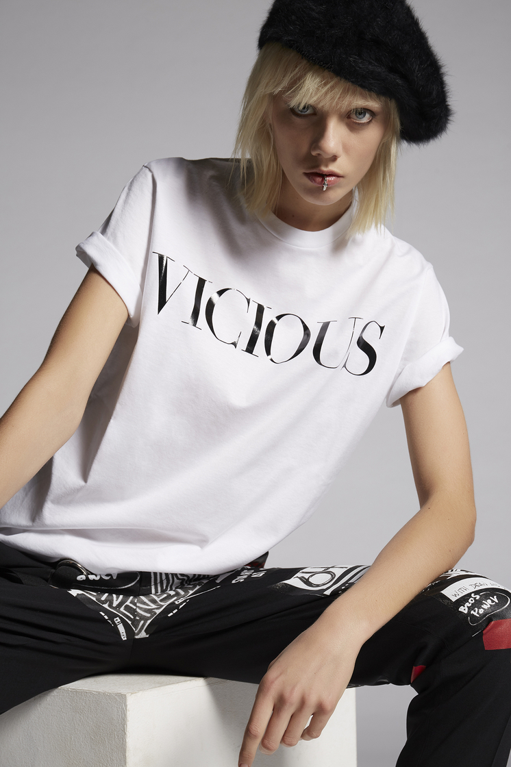 DSQUARED2 Vicious T-Shirt Short sleeve t-shirt Woman