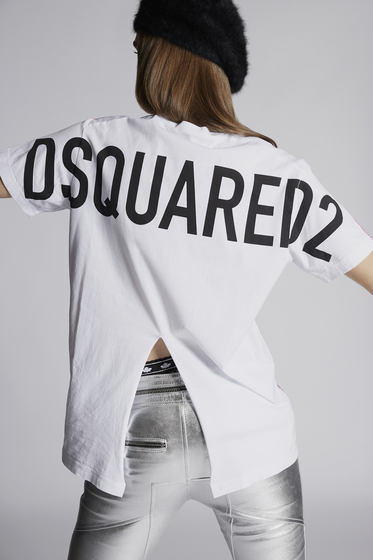 DSQUARED2 Short sleeve t-shirt Woman S72CU0922S22507217 b