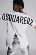 DSQUARED2 Dean Vicious All Over T-Shirt Short sleeve t-shirt Woman