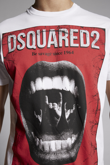 DSQUARED2 Short sleeve t-shirt [*** pickupInStoreShippingNotGuaranteed_info ***] S74GD0521S22427100 m