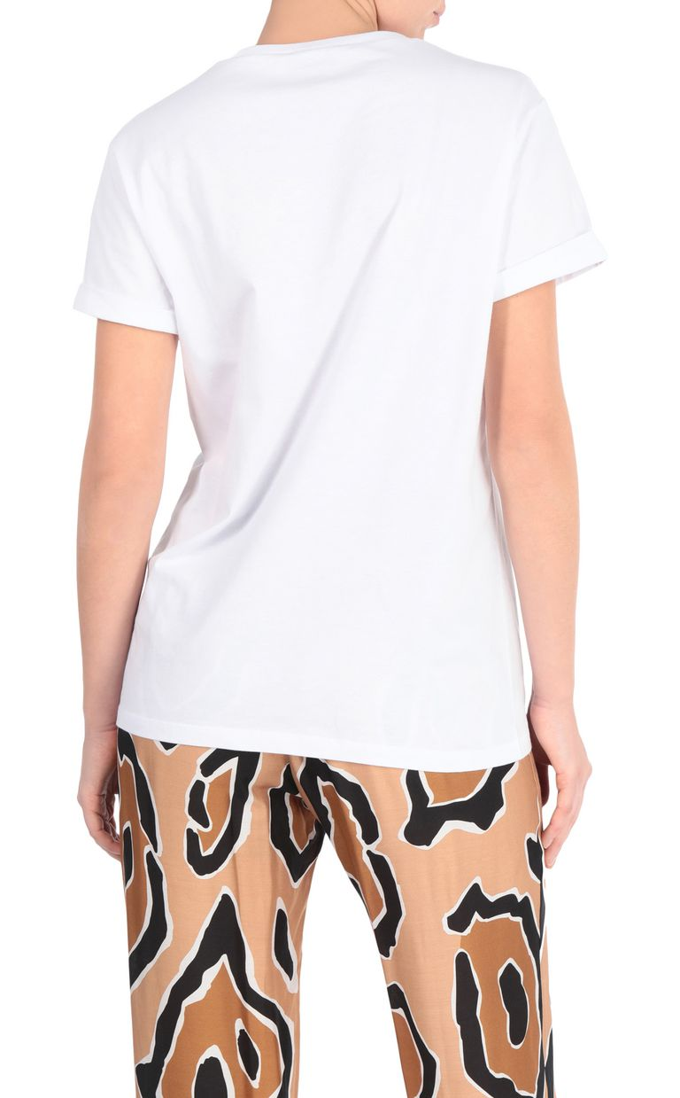 JUST CAVALLI T-shirt with Venus print design Short sleeve t-shirt Woman r