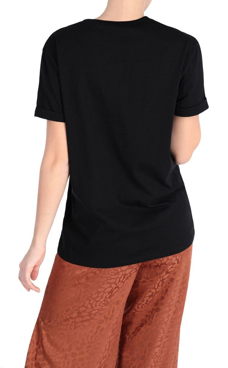 JUST CAVALLI T-shirt with logo print Short sleeve t-shirt Woman r