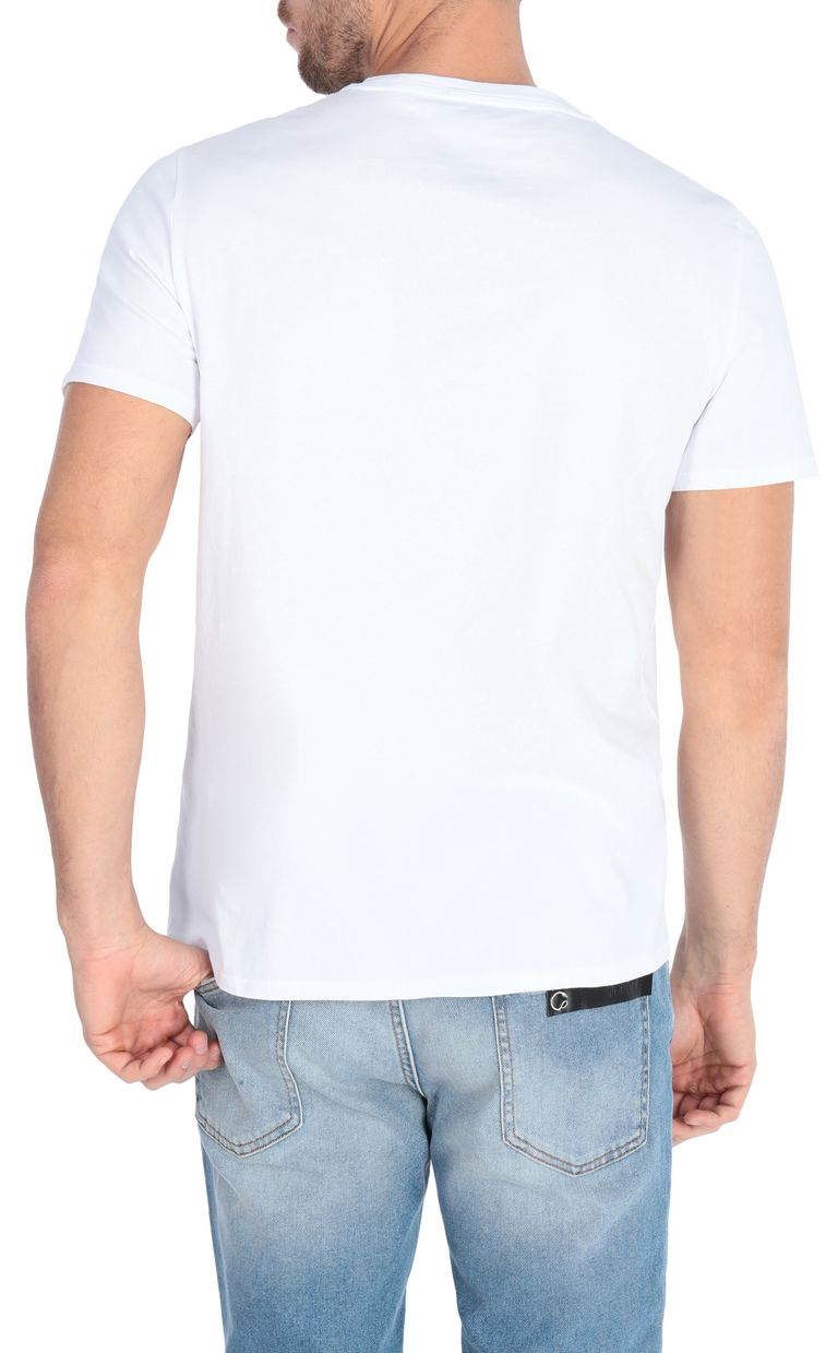 JUST CAVALLI T-shirt with logo print design Short sleeve t-shirt Man r