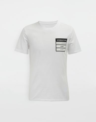 MAISON MARGIELA Short sleeve t-shirt [*** pickupInStoreShippingNotGuaranteed_info ***] Stereotype T-shirt f