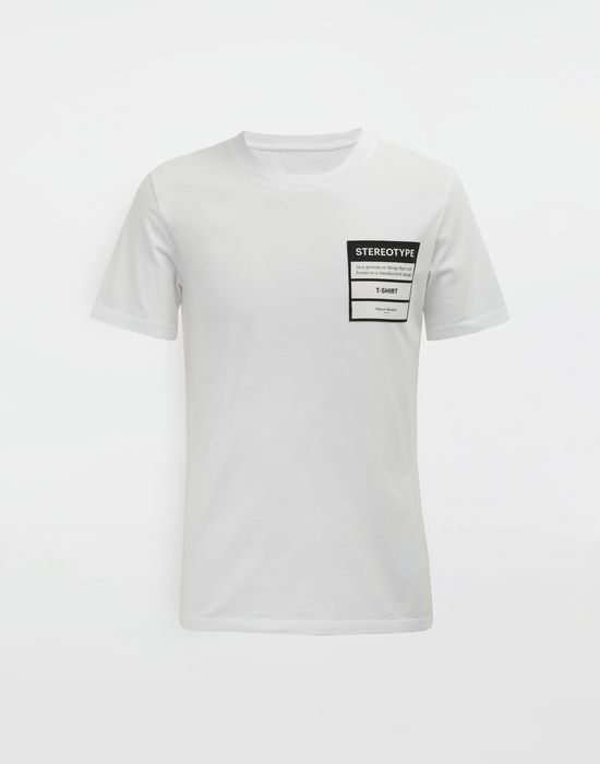 MAISON MARGIELA Stereotype T-shirt Short sleeve t-shirt [*** pickupInStoreShippingNotGuaranteed_info ***] f