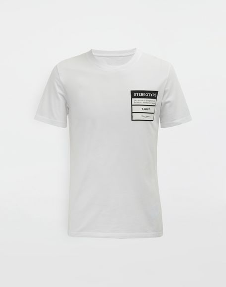 MAISON MARGIELA Stereotype T-shirt Short sleeve t-shirt Man f
