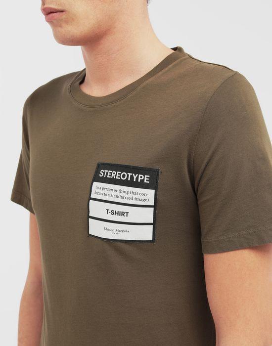 MAISON MARGIELA Stereotype T-shirt Short sleeve t-shirt [*** pickupInStoreShippingNotGuaranteed_info ***] a