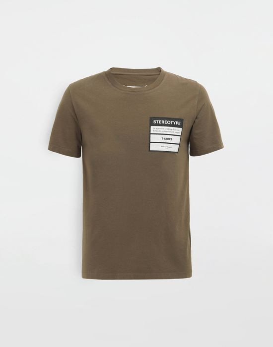 MAISON MARGIELA Stereotype T-shirt Short sleeve t-shirt [*** pickupInStoreShippingNotGuaranteed_info ***] f