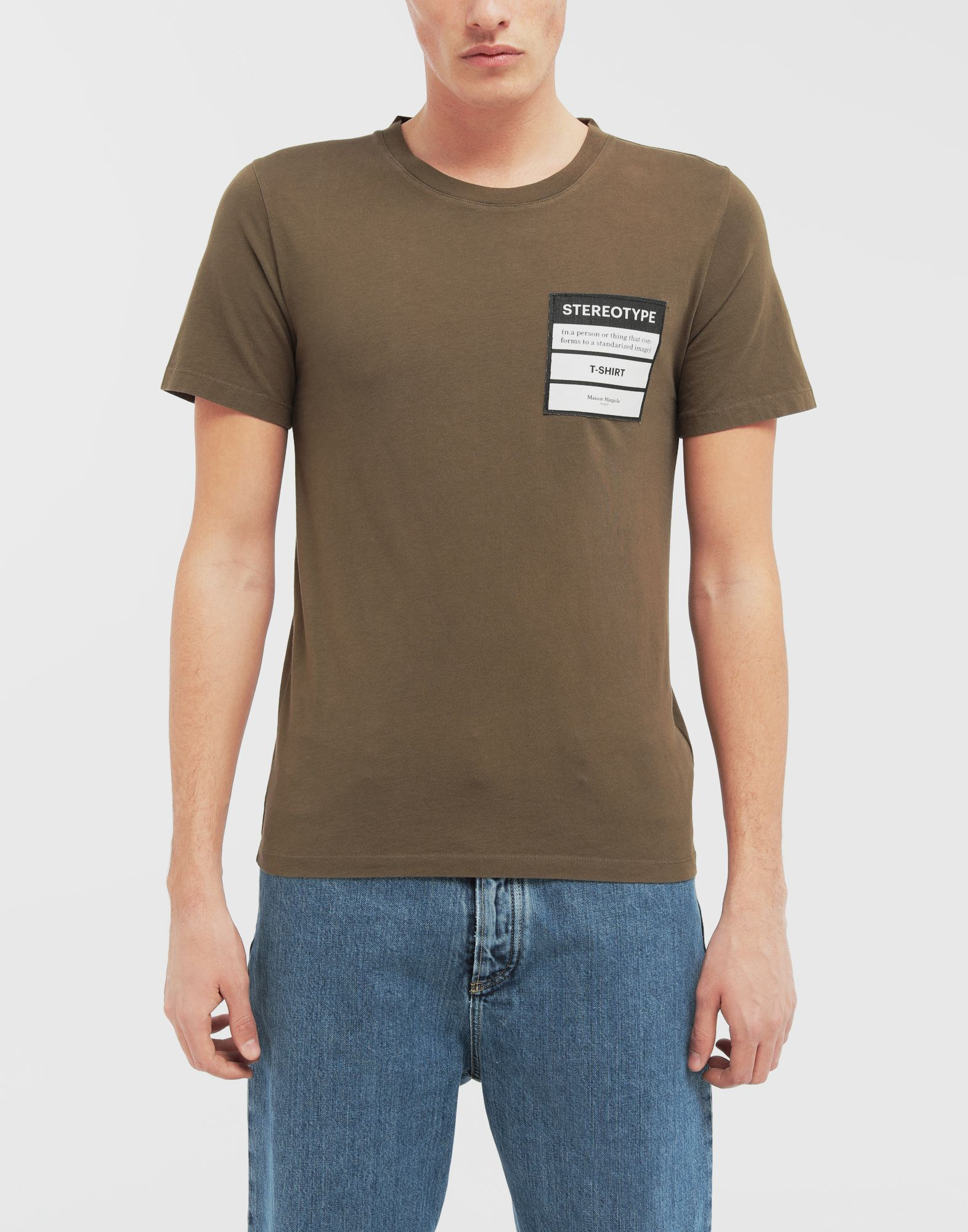 MAISON MARGIELA Stereotype T-shirt Short sleeve t-shirt Man r