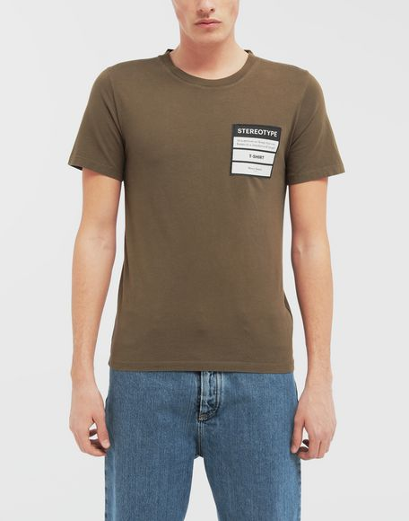 MAISON MARGIELA Camiseta Stereotype Camiseta de manga corta Hombre r