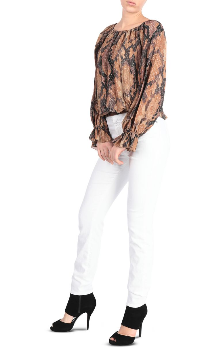 JUST CAVALLI Python-print top Top Woman d