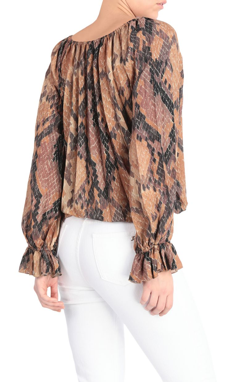 JUST CAVALLI Python-print top Top Woman r