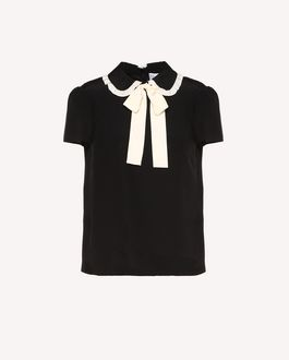 REDValentino Top Woman RR0AE00CXEF 0NO a