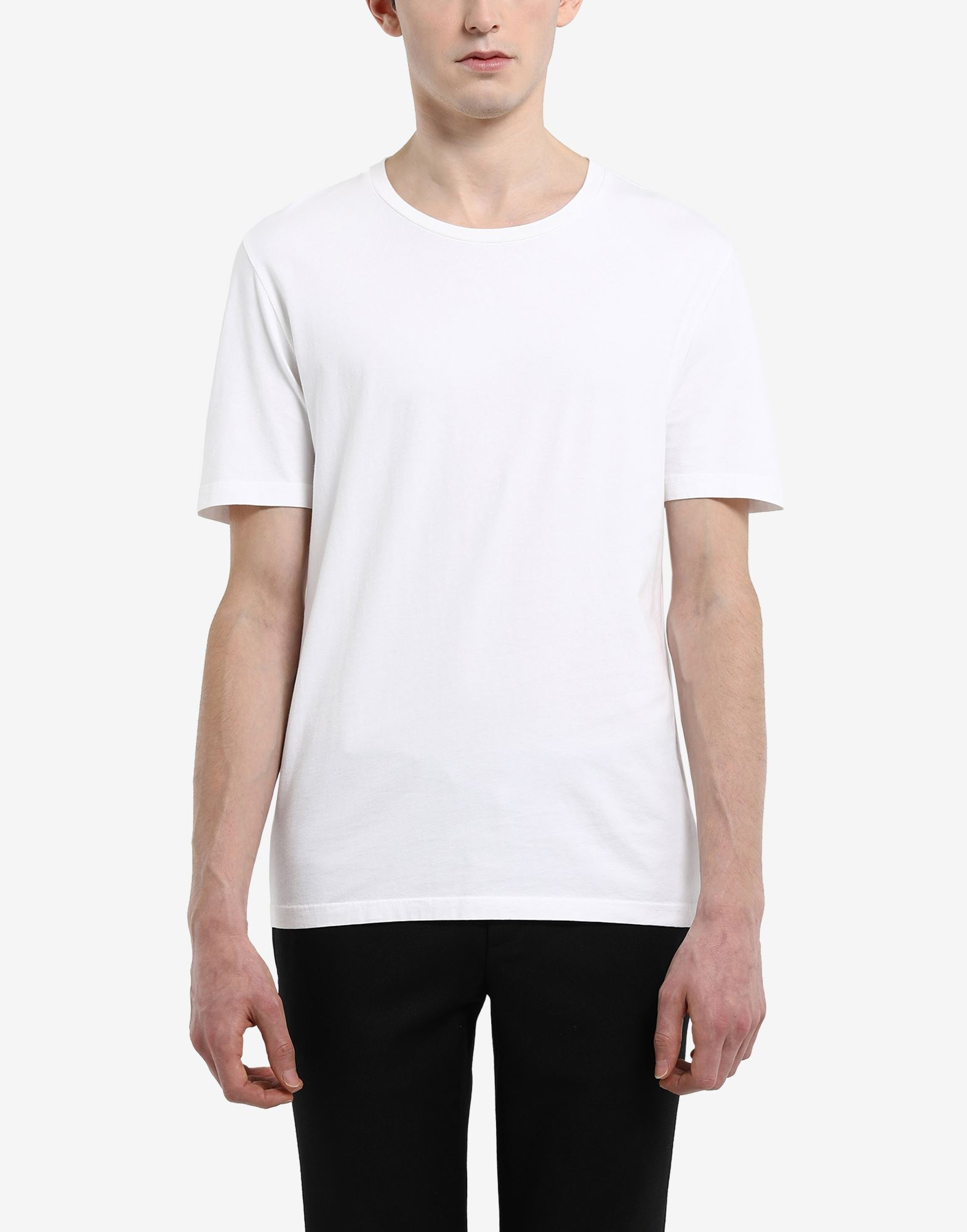 MAISON MARGIELA Classic cotton T-shirt Short sleeve t-shirt Man a