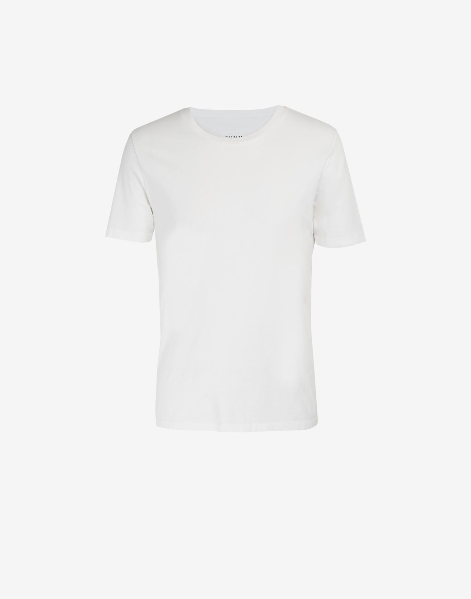 MAISON MARGIELA Classic cotton T-shirt Short sleeve t-shirt Man f
