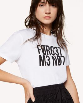 "REDValentino ""Forget Me Not"" printed  T-shirt"