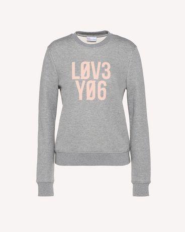 REDValentino RR3MF06TITZ 080 Sweatshirt Woman a