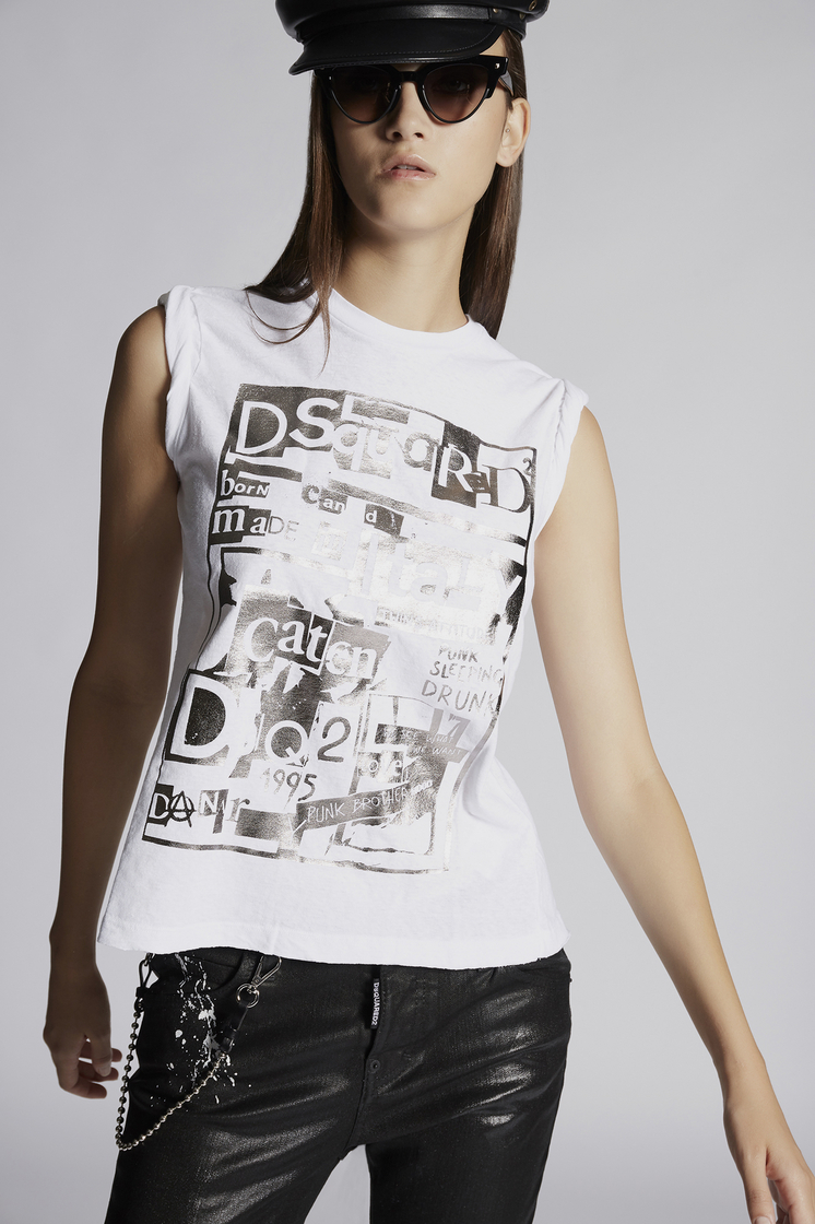 DSQUARED2 Dsquared2 Sleeveless T-Shirt Short sleeve t-shirt Woman