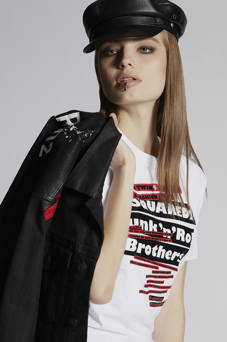 DSQUARED2 Punk'n'Roll T-Shirt Short sleeve t-shirt Woman