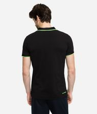 KARL LAGERFELD Polo à logo fluo T-shirt Homme e