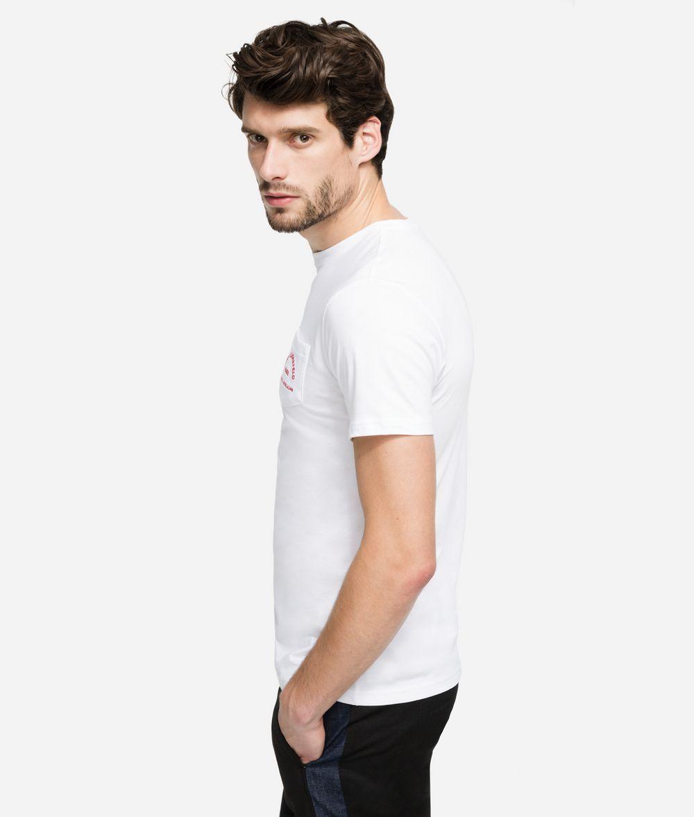 KARL LAGERFELD Rue Lagerfeld Logo T-Shirt T-shirt Man d