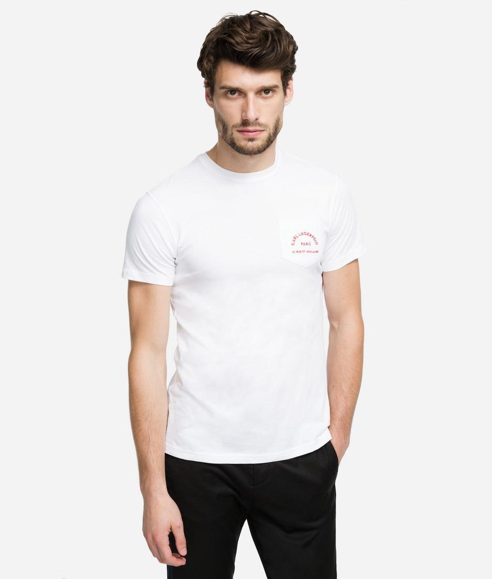 KARL LAGERFELD Rue Lagerfeld Logo T-Shirt T-shirt Man f
